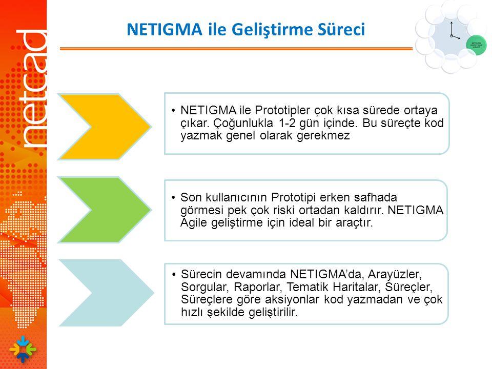 NETIGMA ile Geliştirme Süreci