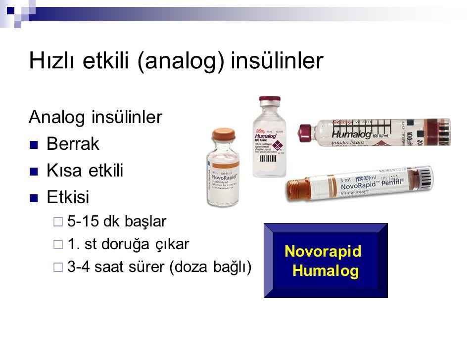 Hızlı etkili (analog) insülinler