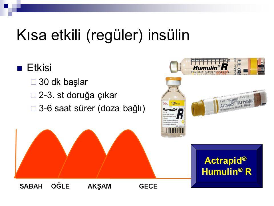 Kısa etkili (regüler) insülin