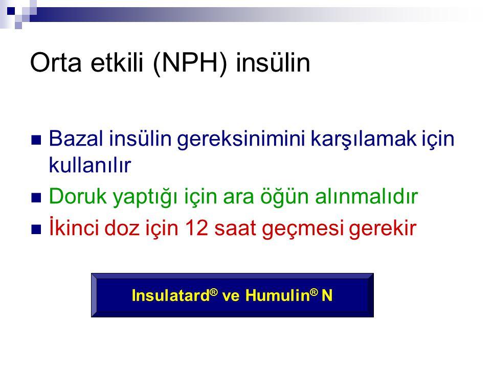 Orta etkili (NPH) insülin