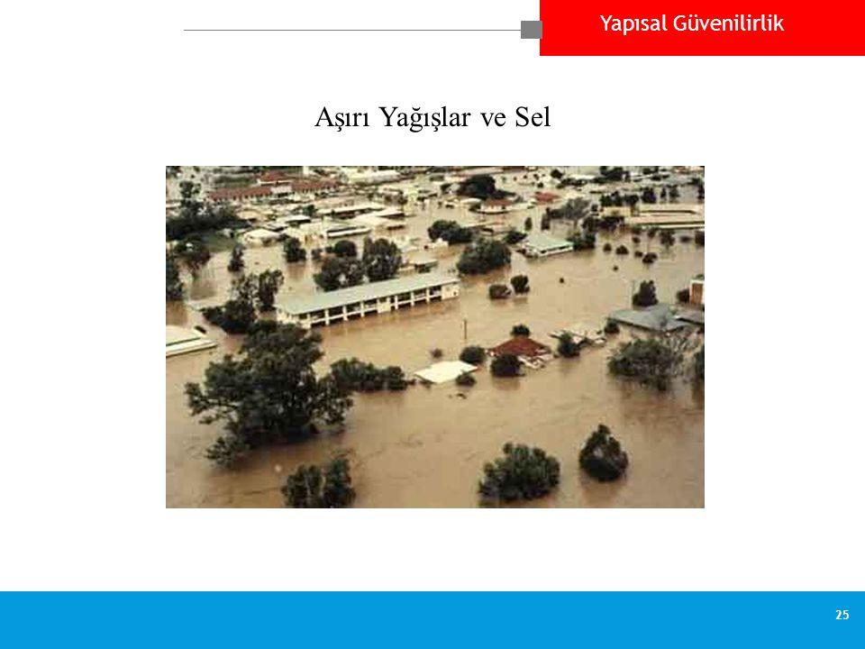 Aşırı Yağışlar ve Sel