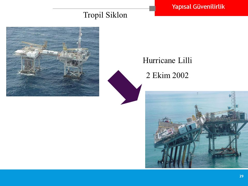 Tropil Siklon Hurricane Lilli 2 Ekim 2002