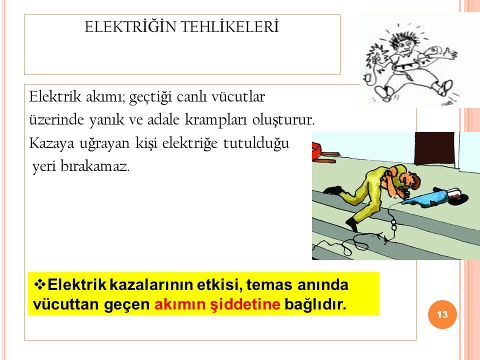 ELEKTRİĞİN TEHLİKELERİ