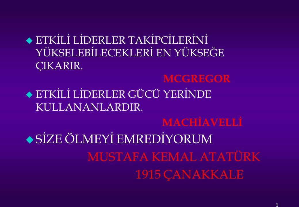 SİZE ÖLMEYİ EMREDİYORUM 1915 ÇANAKKALE