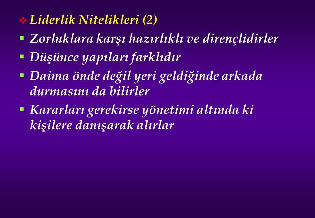 Liderlik Nitelikleri (2)