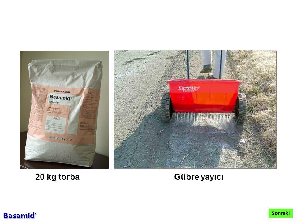 20 kg torba Gübre yayıcı Sonraki