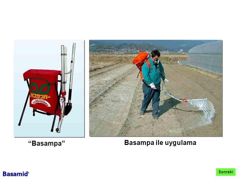 Basampa Basampa ile uygulama Sonraki