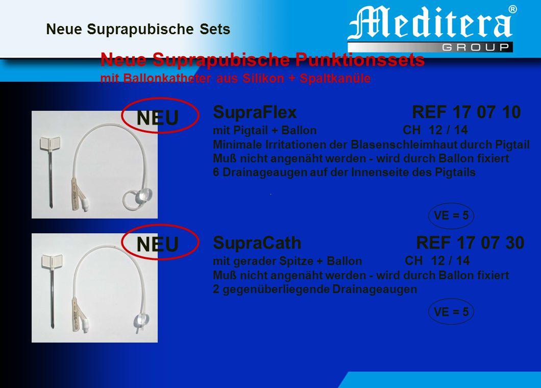 NEU NEU Neue Suprapubische Punktionssets SupraFlex REF 17 07 10