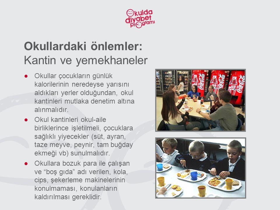 Okullardaki önlemler: Kantin ve yemekhaneler