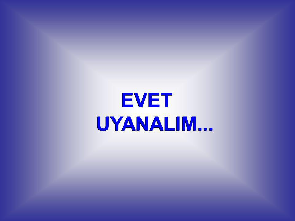 EVET UYANALIM...