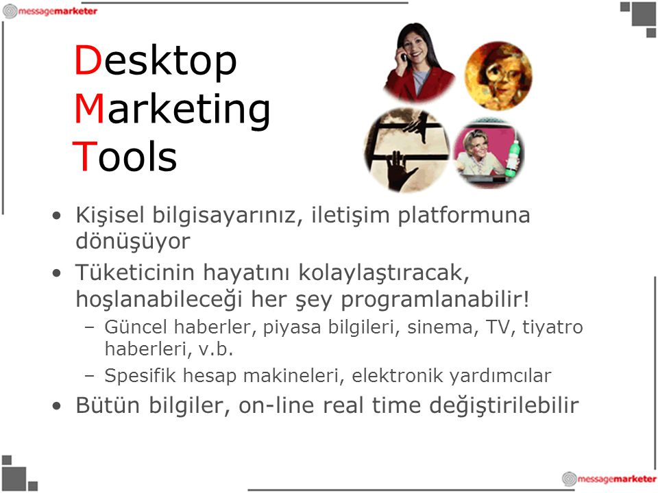 Desktop Marketing Tools