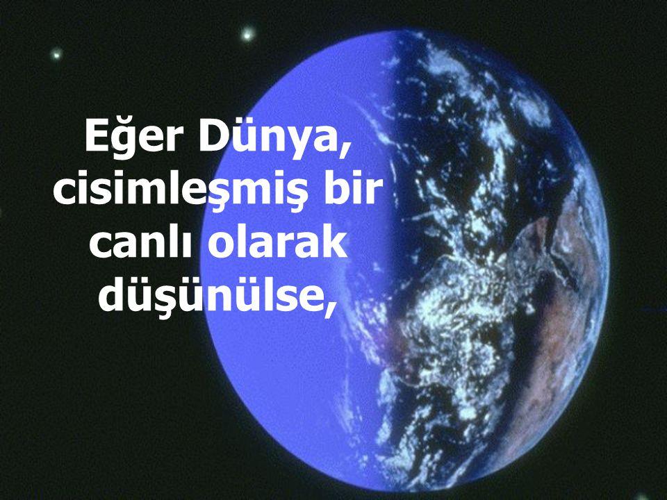 Eğer Dünya, cisimleşmiş bir canlı olarak düşünülse,