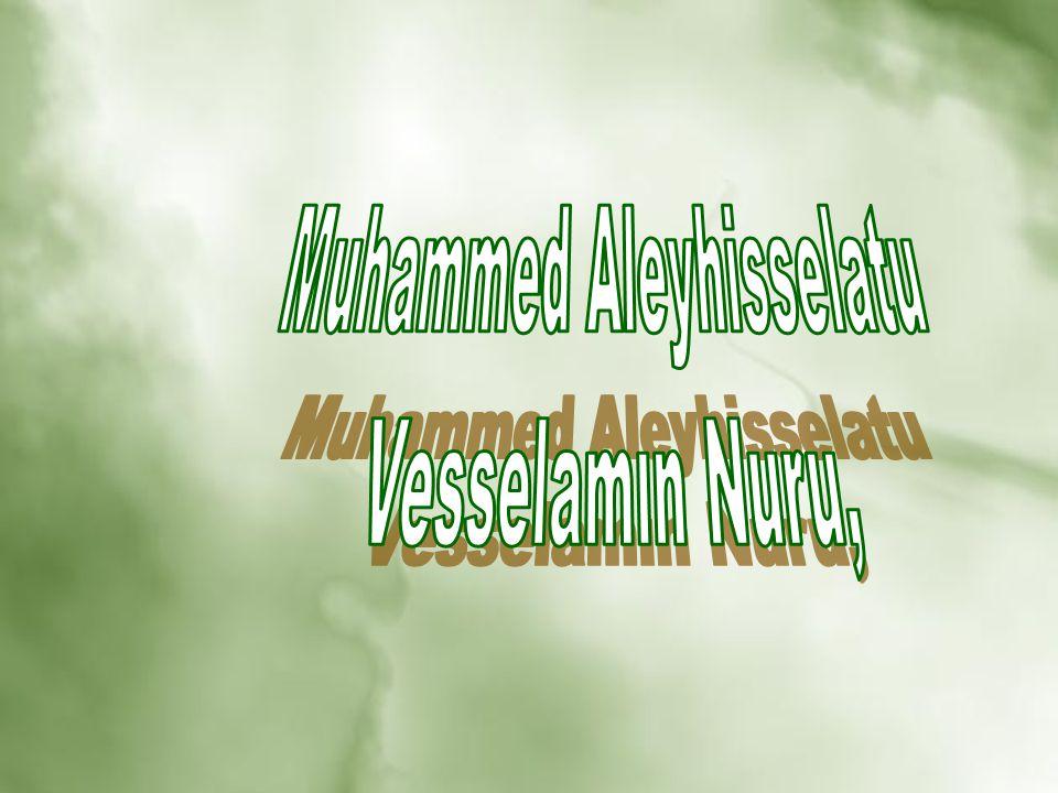 Muhammed Aleyhisselatu