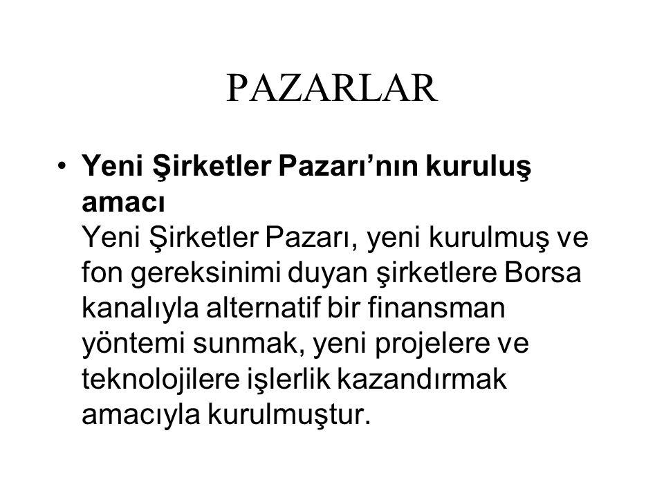 PAZARLAR