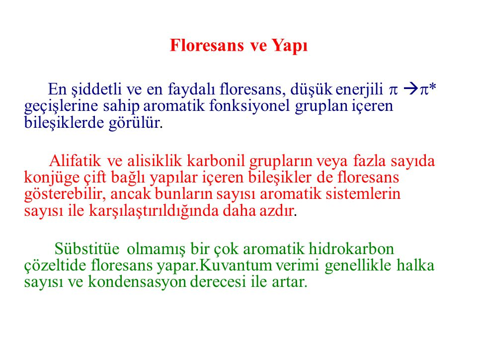 Floresans ve Yapı