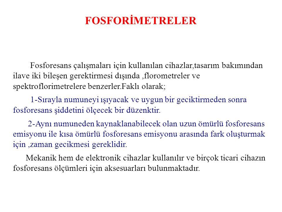 FOSFORİMETRELER