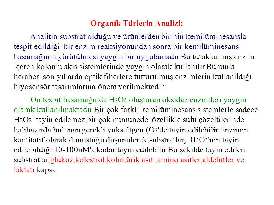 Organik Türlerin Analizi: