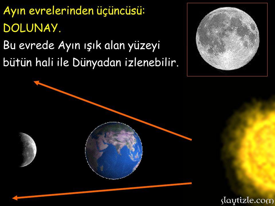 Ayın evrelerinden üçüncüsü:
