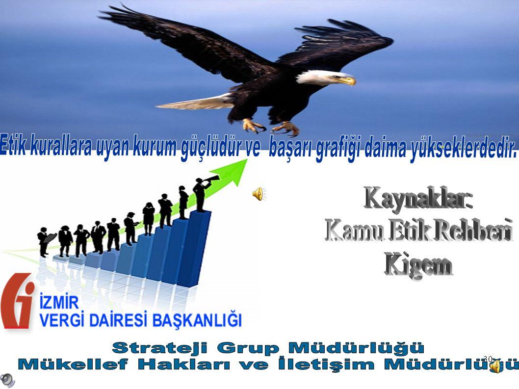 Strateji Grup Müdürlüğü Mükellef Hakları ve İletişim Müdürlüğü