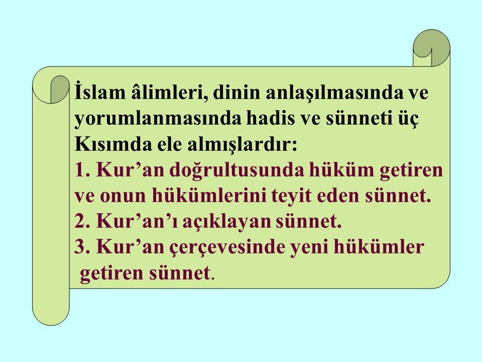 İslam âlimleri, dinin anlaşılmasında ve