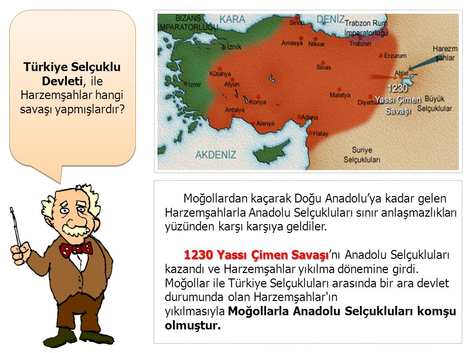 Türkiye Selçuklu Devleti, ile Harzemşahlar hangi savaşı yapmışlardır