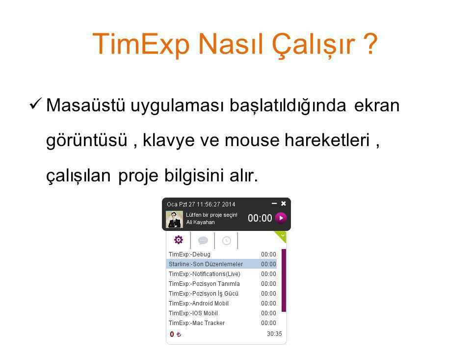 TimExp Nasıl Çalışır .