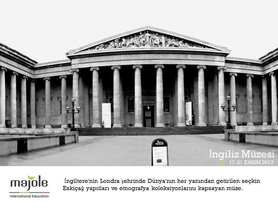 İngiliz Müzesi BETT PROGRAMI