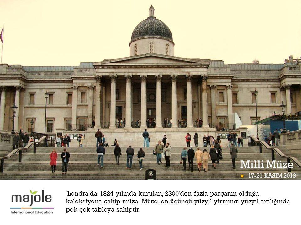 Milli Müze BETT PROGRAMI