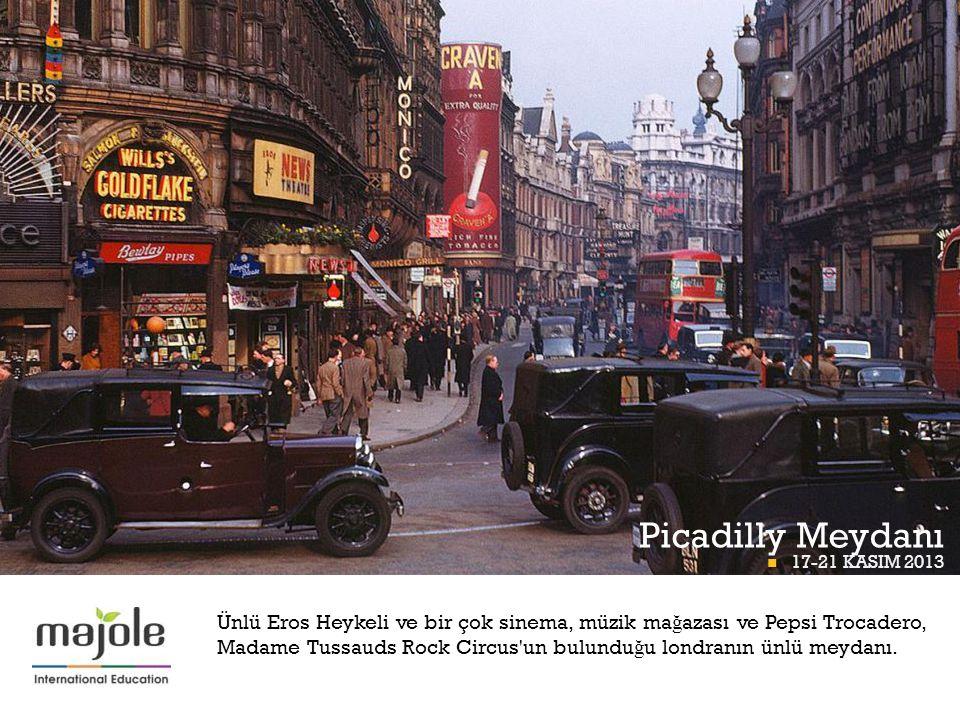 Picadilly Meydanı BETT BETT PROGRAMI