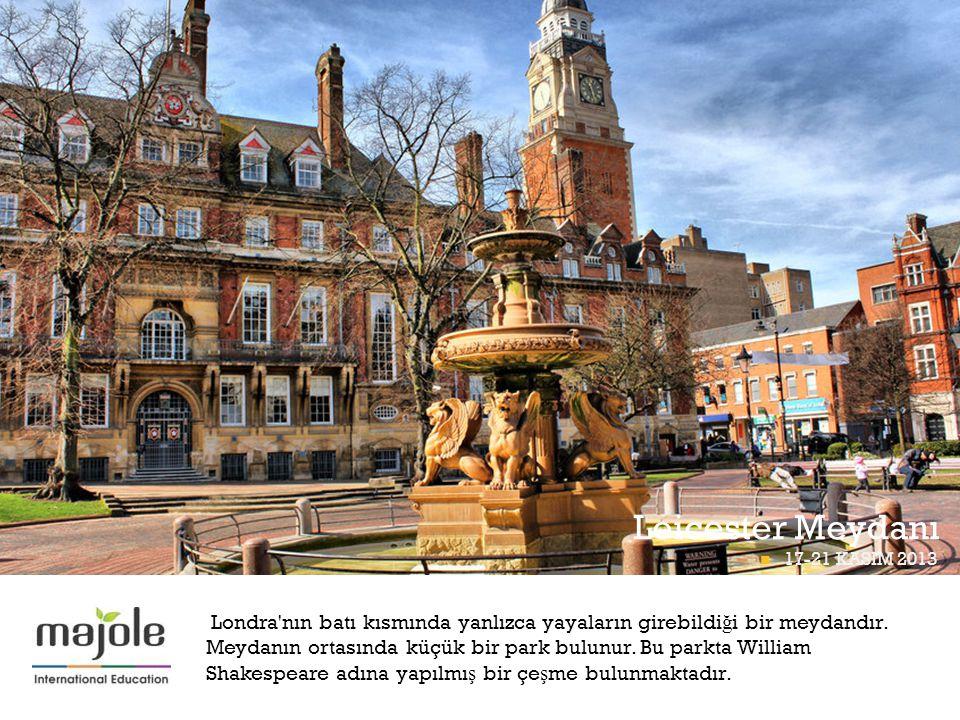 BETT Leicester Meydanı BETT PROGRAMI