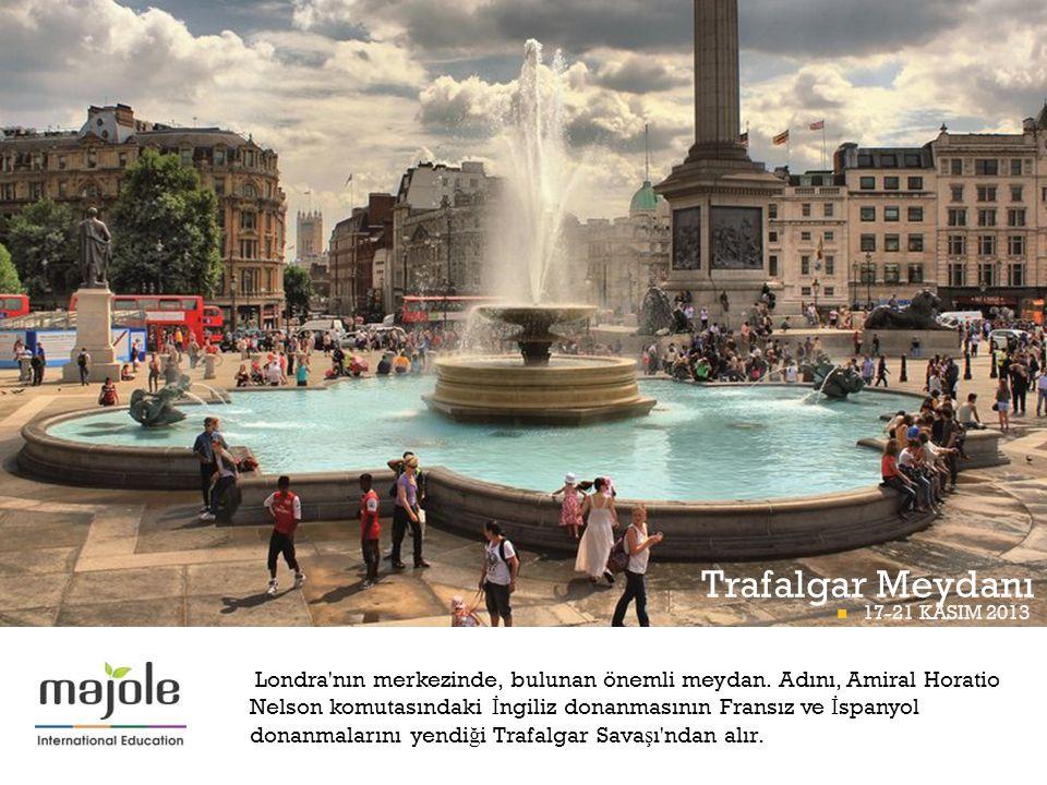 Trafalgar Meydanı BETT PROGRAMI