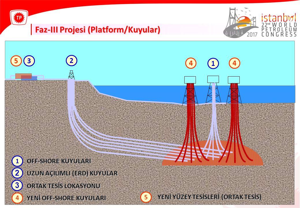 Faz-III Projesi (Platform/Kuyular)