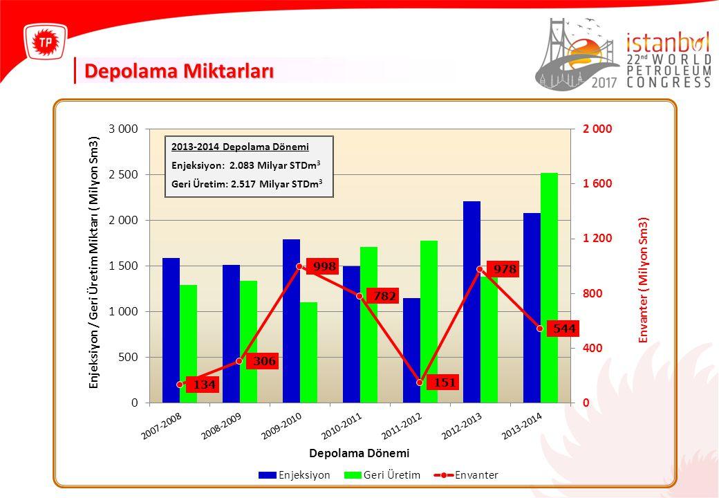 TPAO - SUNUM ADI 01 OCAK 2014 Depolama Miktarları