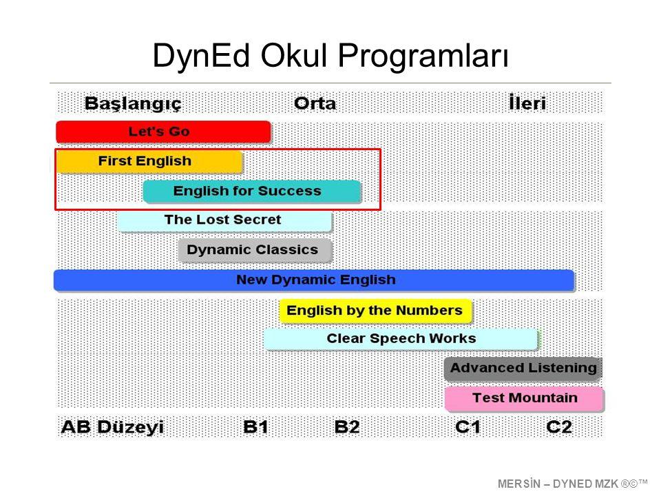 DynEd Okul Programları