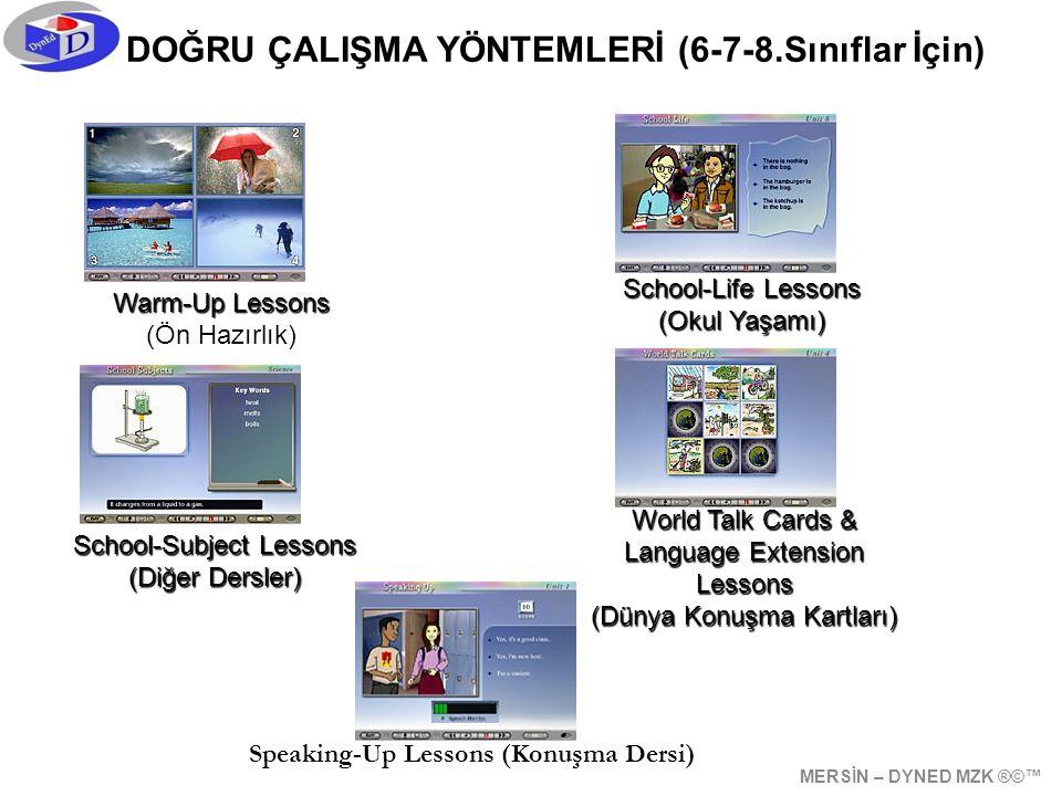 DOĞRU ÇALIŞMA YÖNTEMLERİ (6-7-8.Sınıflar İçin)
