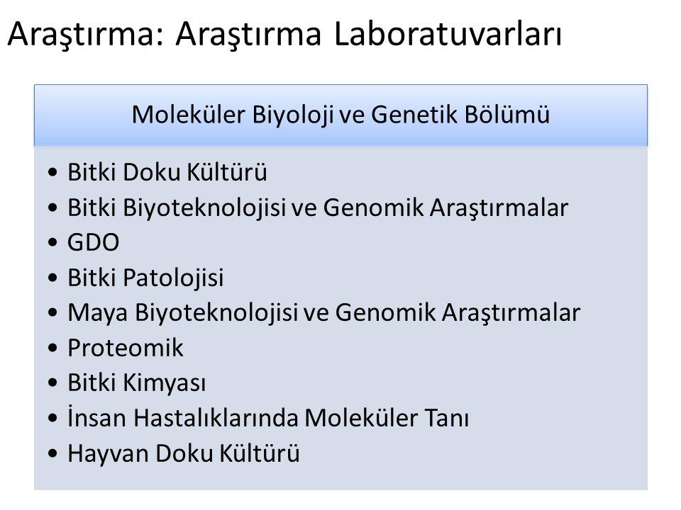 Araştırma: Araştırma Laboratuvarları