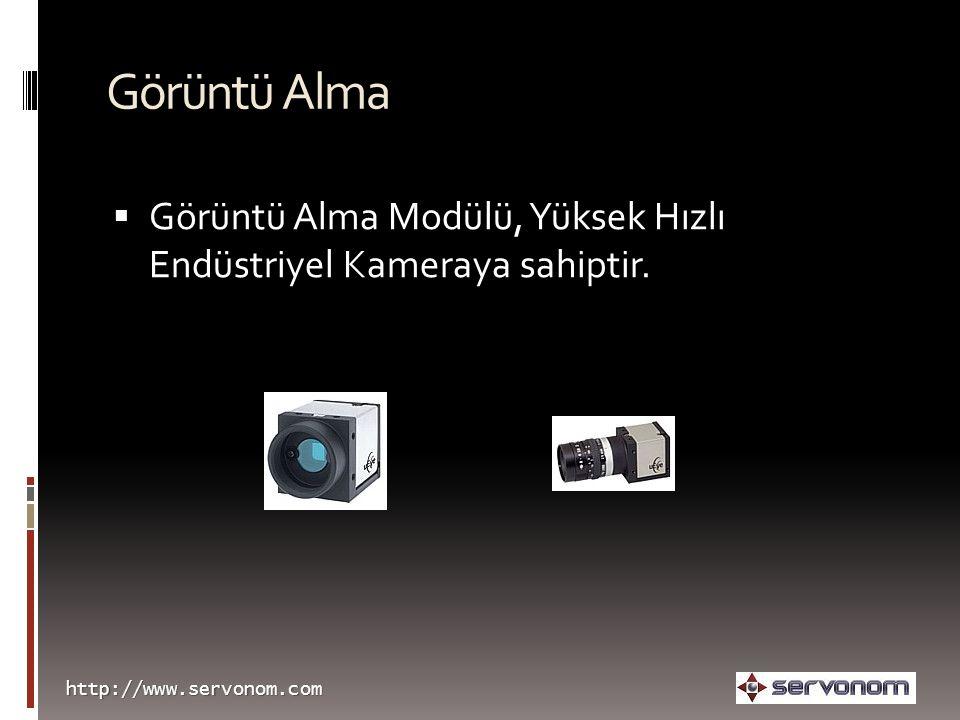 Görüntü Alma Görüntü Alma Modülü, Yüksek Hızlı Endüstriyel Kameraya sahiptir.