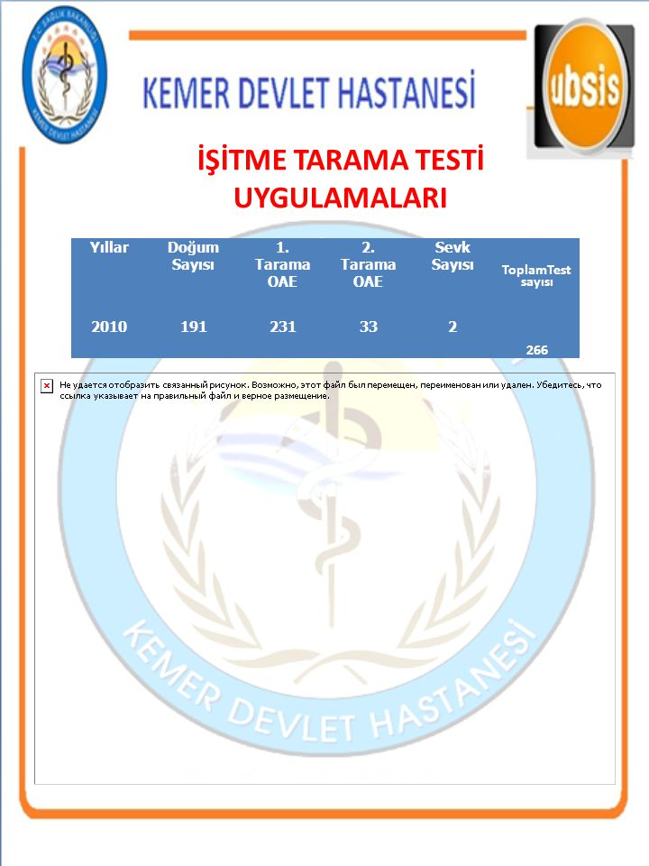 KEMER DEVLET HASTANESİ
