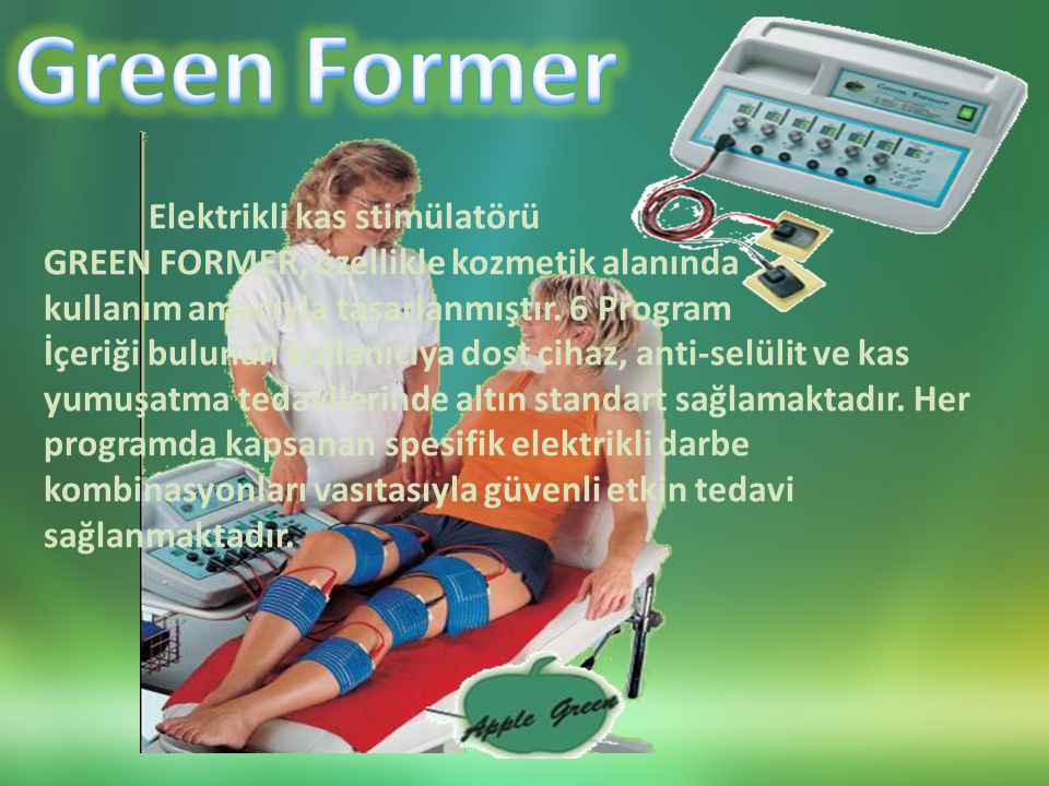 Green Former Elektrikli kas stimülatörü