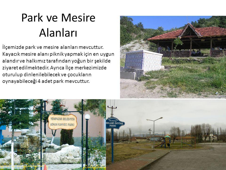 Park ve Mesire Alanları