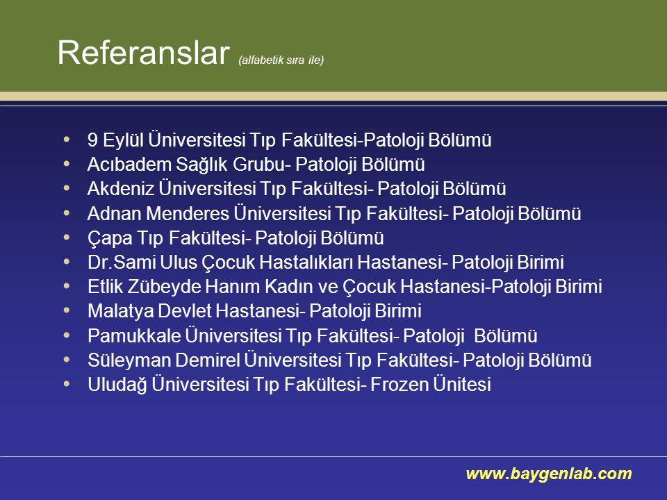 Referanslar (alfabetik sıra ile)