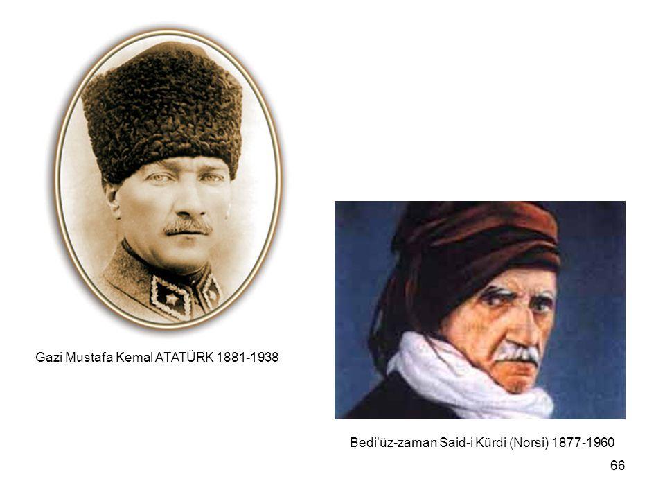 Gazi Mustafa Kemal ATATÜRK 1881-1938