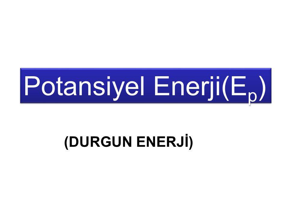 Potansiyel Enerji(Ep)