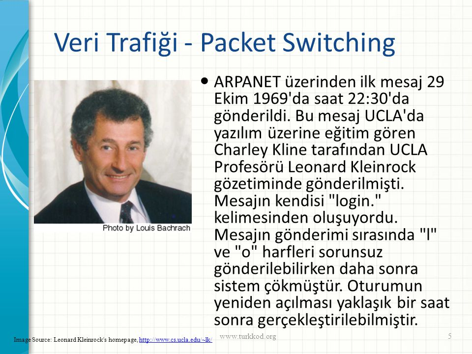 Veri Trafiği - Packet Switching