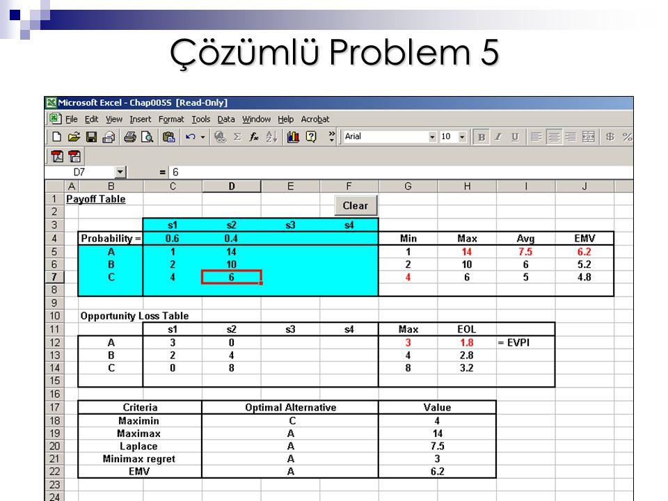 Çözümlü Problem 5
