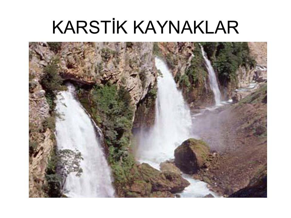 KARSTİK KAYNAKLAR