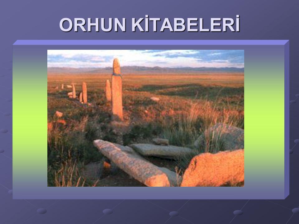 ORHUN KİTABELERİ