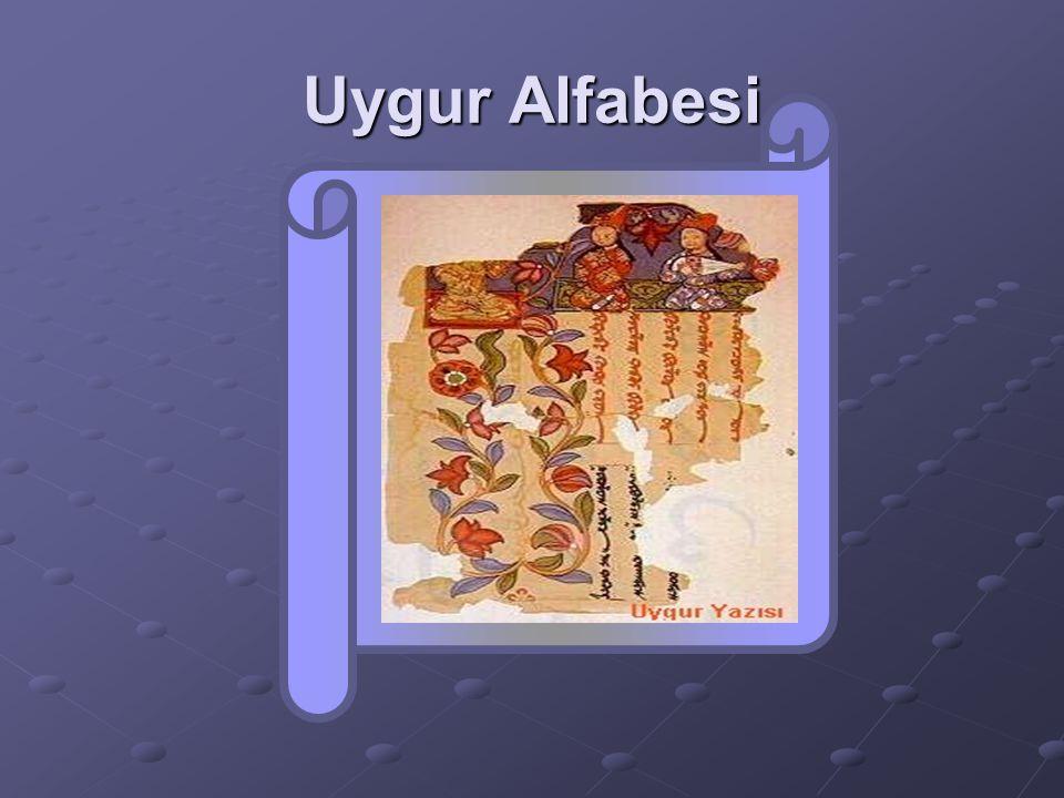 Uygur Alfabesi