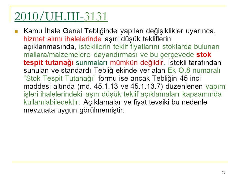 2010/UH.III-3131