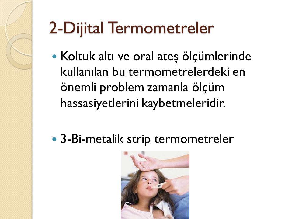 2-Dijital Termometreler
